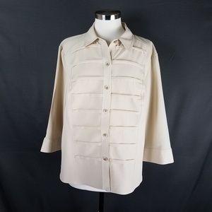 4/10- Covington blouse size XL